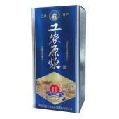 工农原浆清香型白酒500ML 42度 一箱起售包邮