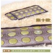 BQ-052-02黄玉压膜加热水腰带 狼皮纹