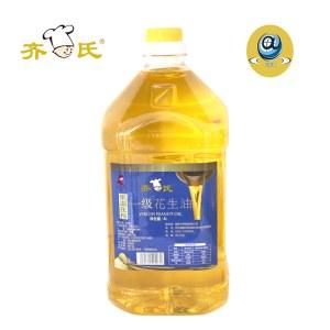 齐氏4L一级花生油.低温物理压榨包邮价